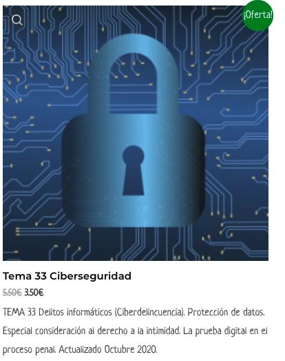 Tema 33 Ciberseguridad